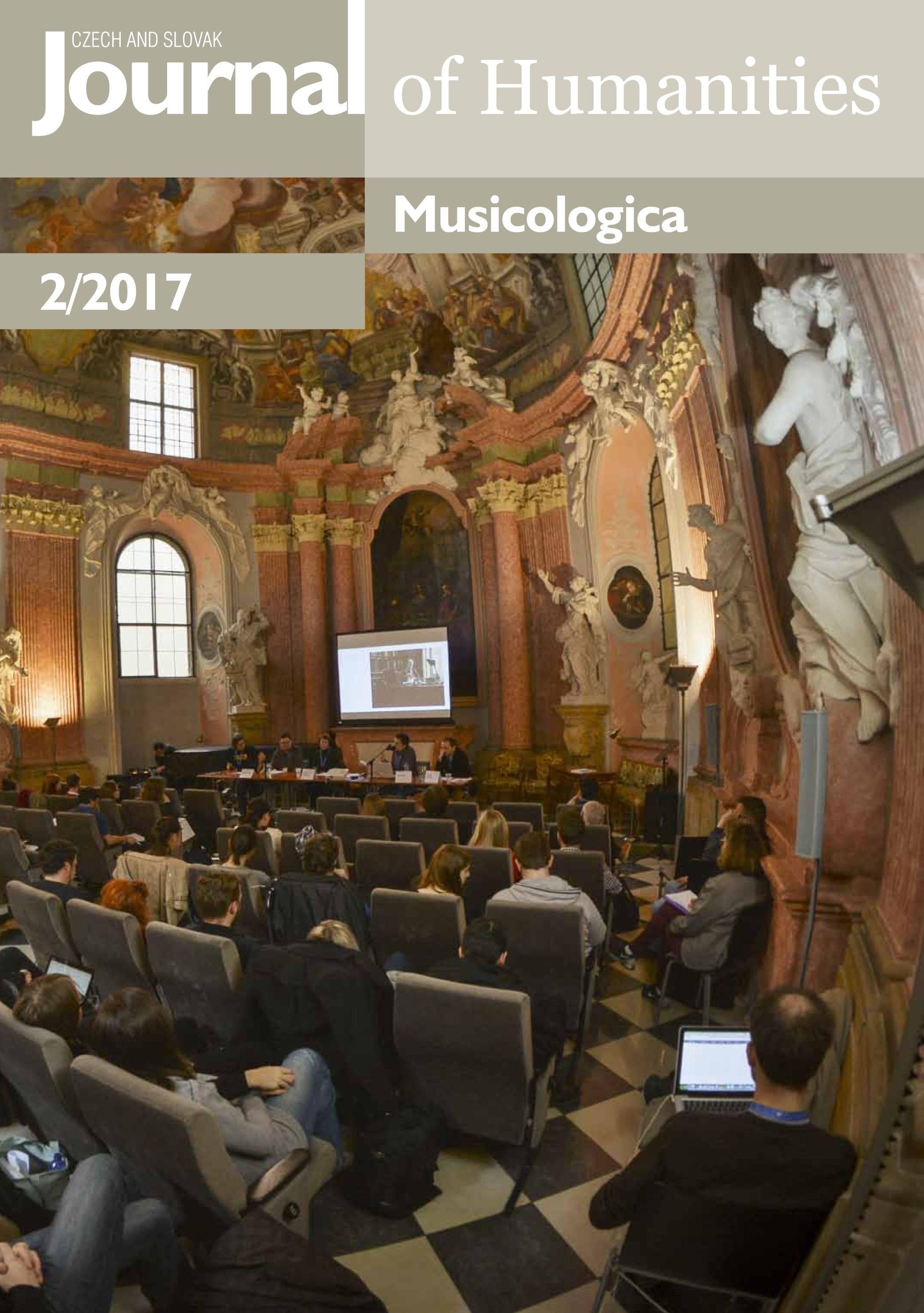 Musicologica 2/2017