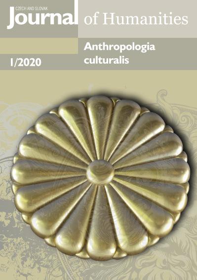 Anthropologia culturalis 1/2020
